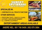 Sunset Spitbraai Rentals & Catering