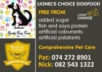Saldanha Quality Dog Food