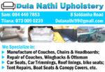 Dula Nathi Upholstery