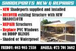 Shadeports New & Repairs